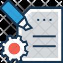 Content Management File Icon
