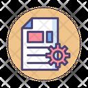 Content Management Content Development Copywriting Icon