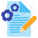 Content Management Content Development Content Setting Icon