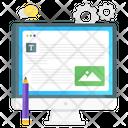 Content Setting Content Management Content Configuration Icon