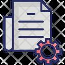 Content Management Content Production Page Development Icon