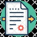 Content Management Editing Icon