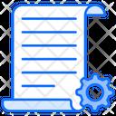 Content Management Content Content Setting Icon