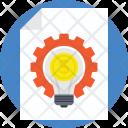 Content Management Business Icon