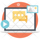 Modern Marketing Online Icon