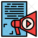 Content Marketing Advertisement Icon