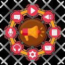 Content Marketing Digital Marketing Marketing Icon
