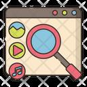 Content Marketing Search Icon