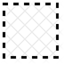 Content No Border Icon