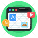 Content Payment Icon