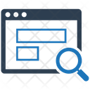 Application Content Management Content Research Icon