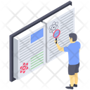 Content Search Keyword Search Book Monitoring Icon