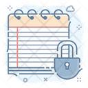 Content Security Data Locked Data Protection Icon