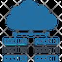 Centralized Database Content Server Database Management System Icon