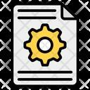 Content Setting Content Management Article Management Icon