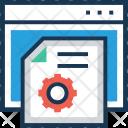 Content setting Icon