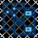 Content Sharing Sharing Sharing Content Icon