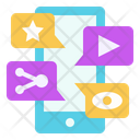 Video Live Share Icon