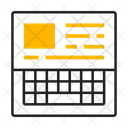 Content Typing Icon