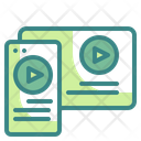 Content Video Video Tablet Icon