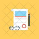 Content Writing Blogging Icon