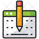 Blogging Article Writing Content Writing Icon