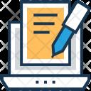 Content Script Writing Icon