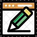 Content Writing Copywriting Icon