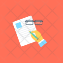 Content Drafting Writing Icon