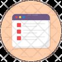 Draft Blogging Content Icon