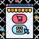 Continue Shopping Online Shopping Shopping Icon