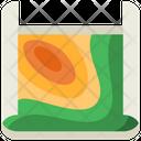 Contour Map Icon