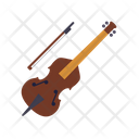 Contrabass Doublebass Bow Icon