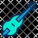Audio Contrabass Instrument Icon
