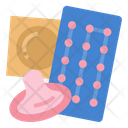 Contraception Prevention Safe Icon