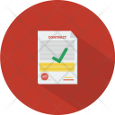 Contract Paper Work Icon