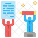 Contract Agreement Compact Icon