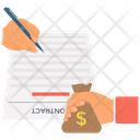 Contract Agreement Deal Icon