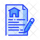 Contract Property Agreement Agreement Icon
