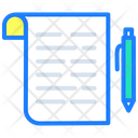 Contract Business Contract Business Notes Icon