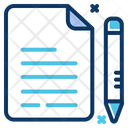 Contract Contract Paper Agreement Paper Icon