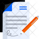 Agreement Deal Document Icon