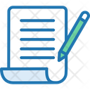 Contract Agrrement Rules Icon