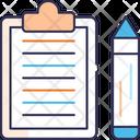Contractm Contract Document Icon