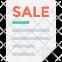 Document Sale Legal Icon