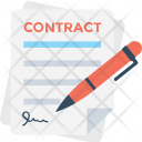 Contract Agreement Pen Icon