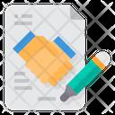 Handshake Project Collaborate Icon