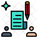 Contract Agreement Pact Icon