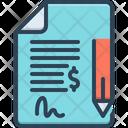 Contract Bond Commitment Icon