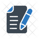 Contract File Document Icon